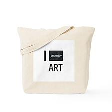 I Love Art-Kawara Tote Bag