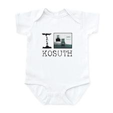 I Love Kosuth Infant Bodysuit