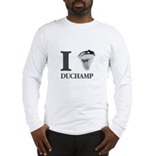 I Love Duchamp Long Sleeve T-Shirt