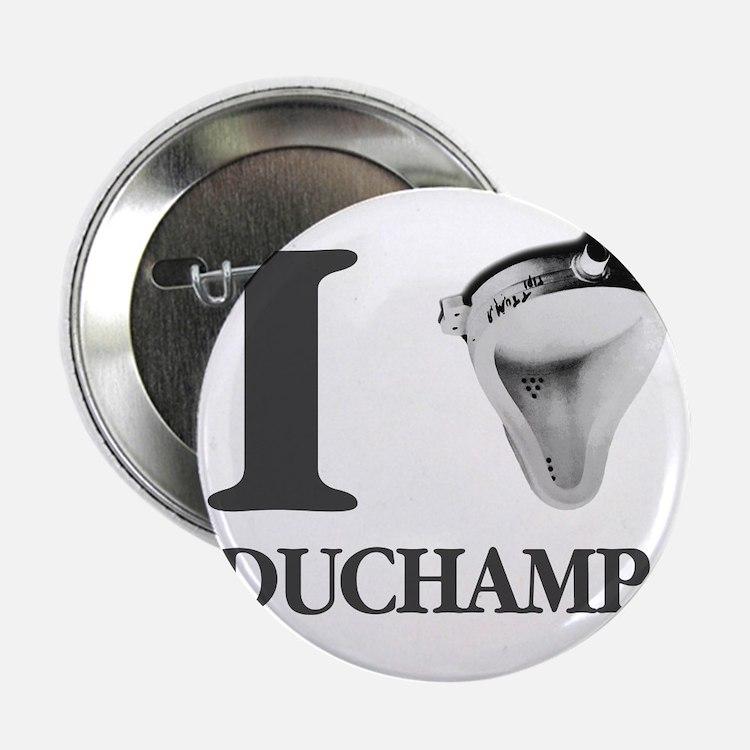 "I Love Duchamp 2.25"" Button"
