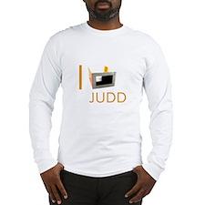 I Love Judd Long Sleeve T-Shirt