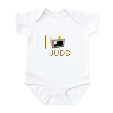 I Love Judd Infant Bodysuit