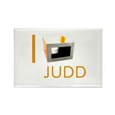 I Love Judd Rectangle Magnet
