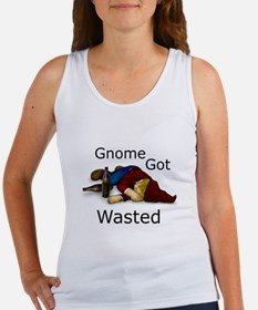 Gnome Got Wasted Women's Tank Top