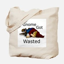 Gnome Got Wasted Tote Bag