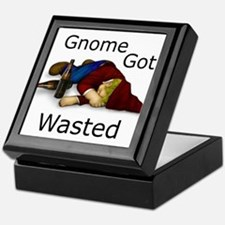 Gnome Got Wasted Keepsake Box