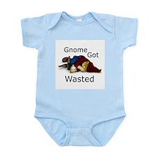 Gnome Got Wasted Infant Bodysuit