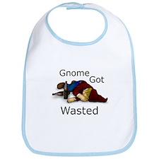 Gnome Got Wasted Bib
