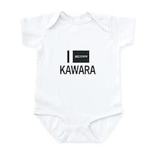 I Love Kawara Infant Bodysuit