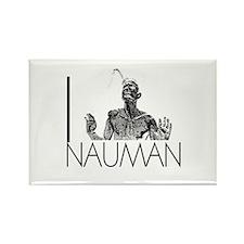 I Love Nauman Rectangle Magnet