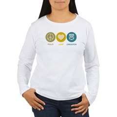 Peace Love Communications T-Shirt