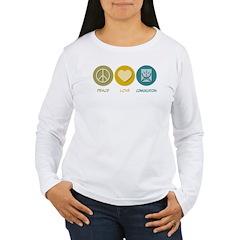 Peace Love Communications T-Shirt