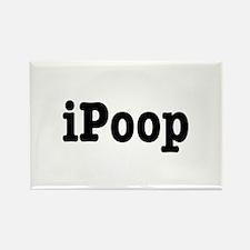 iPoop Rectangle Magnet