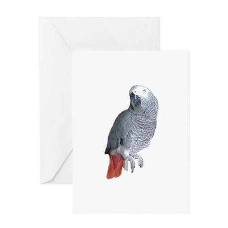 Parrot Image Greeting Card
