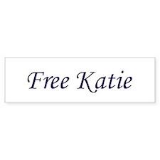 Free Katie Bumper Bumper Sticker