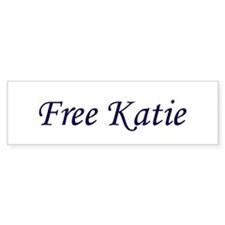 Free Katie Bumper Car Sticker