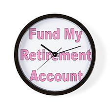 Cute Early retirement Wall Clock