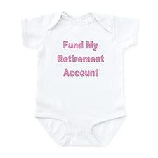 Cute Early retirement Infant Bodysuit