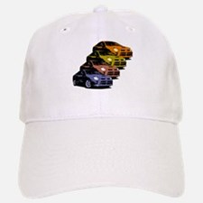 Colorized Neon SRT-4's Baseball Baseball Cap