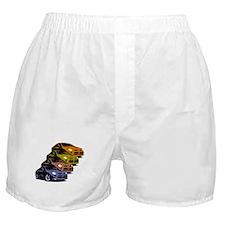 Colorized Neon SRT-4's Boxer Shorts