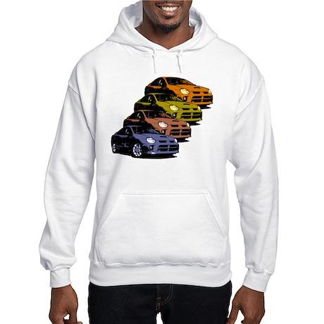 Colorized Neon SRT-4's Hooded Sweatshirt