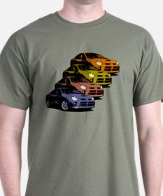 Colorized Neon SRT-4's T-Shirt