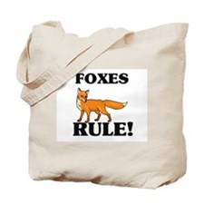 Foxes Rule! Tote Bag