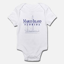 Marco Island Sailboat - Infant Bodysuit