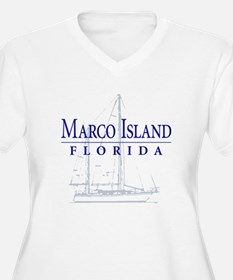 Marco Island Sailboat - T-Shirt