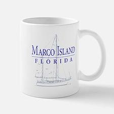 Marco Island Sailboat - Mug