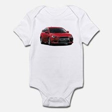 Red Evo X Infant Bodysuit
