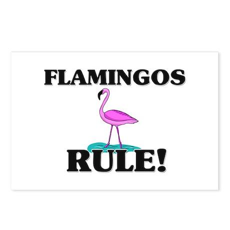 Flamingos Rule! Postcards (Package of 8)
