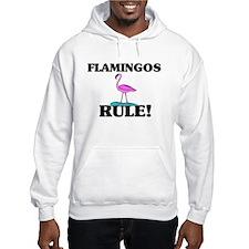 Flamingos Rule! Hoodie