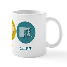Peace Love Climb Mug