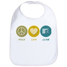 Peace Love Climb Bib