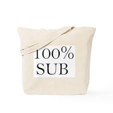100% SUB Tote Bag