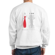 Peace womens Sweatshirt