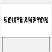 Southampton Faded (Black) Yard Sign