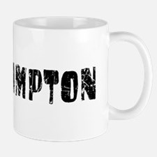 Southampton Faded (Black) Mug