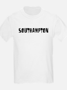 Southampton Faded (Black) T-Shirt