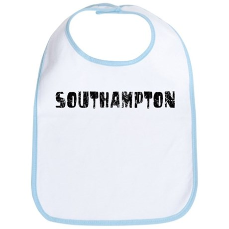 Southampton Faded (Black) Bib