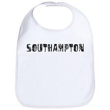 Southampton Faded (Black) Bib