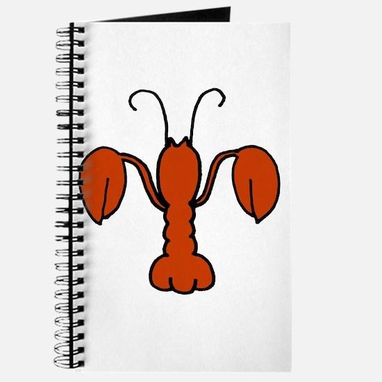 Lobster fleur De Lis Journal