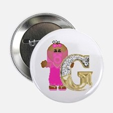 Baby Initials - G Button
