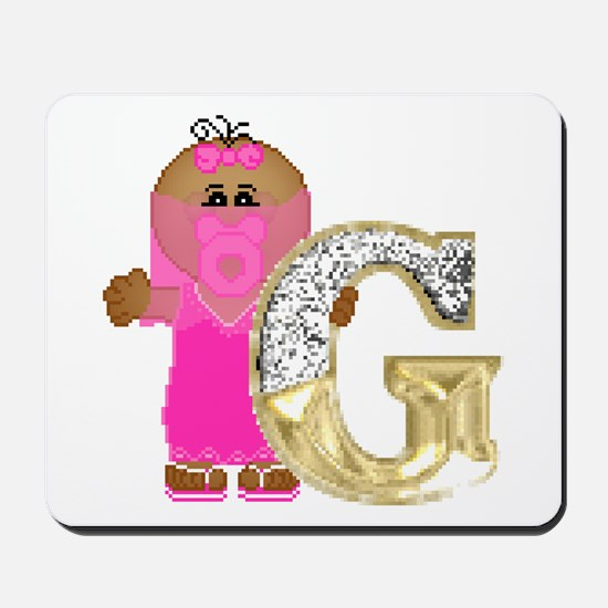 Baby Initials - G Mousepad