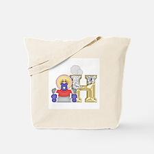 Baby Initials - H Tote Bag