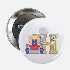 Baby Initials - H Button