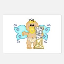 Baby Initials - I Postcards (Package of 8)