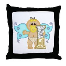 Baby Initials - I Throw Pillow