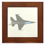 F-16 Framed Tile